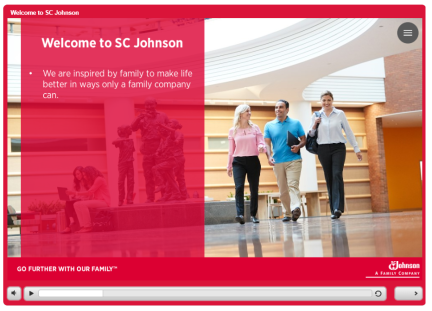 This was a project I worked on while at Allen Interactions, I developed it in storyline 2, working example: SCJ Example
